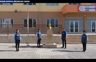 Kırşehir sosyal bilimler lisesinden anlamlı 29 ekim filmi